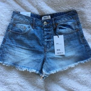 Forever 21 denim shorts!